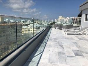 commercial deck glass railings 2