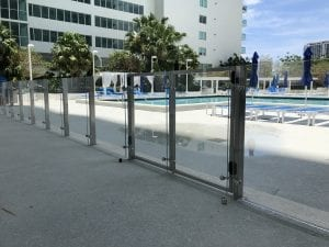 commercial glass pool fencing 13