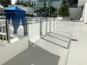 commercial glass railings 2