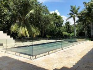 frameless glass pool fence 12