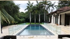 frameless glass pool fence 14