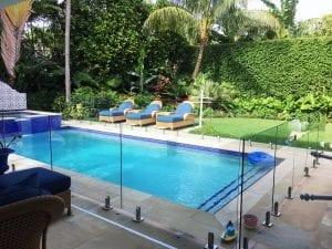 frameless glass pool fence 15