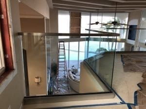indoor glass railing 1