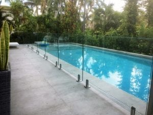 residential glass pool fencing
