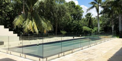 frameless glass pool fence 12
